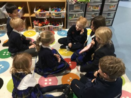 Image of Story time – in French