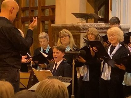 Image of Josh and the Exeter Philharmonic Choir