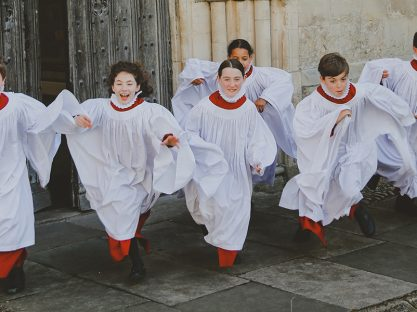 Image of Our Choristers at Christmas