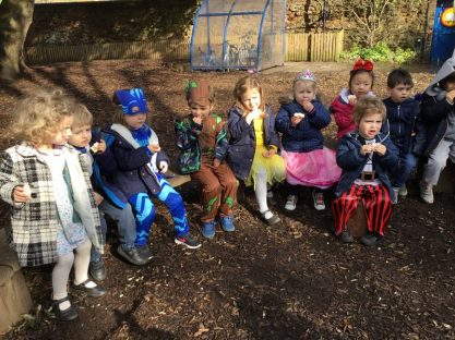 Image of World Book Day in the Nursery