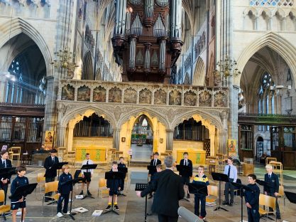 Image of #candomusic – Choristers Return to the Catehdral
