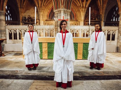 Image of Weekly Blog: The Choristers Return