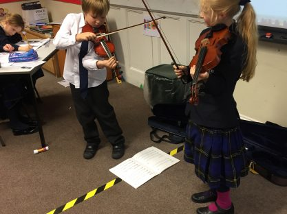 Image of Year 4 investigate the Science of sound!