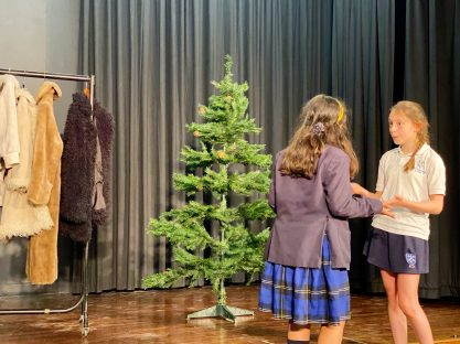 Image of Year 6 'Beyond the Wardrobe' rehearsals are off to a flying start!