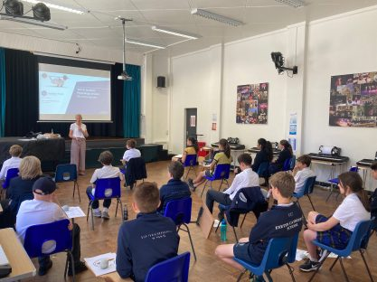 Image of Live Lectures series for Year 8's continues as part of ECS: Futures Programme